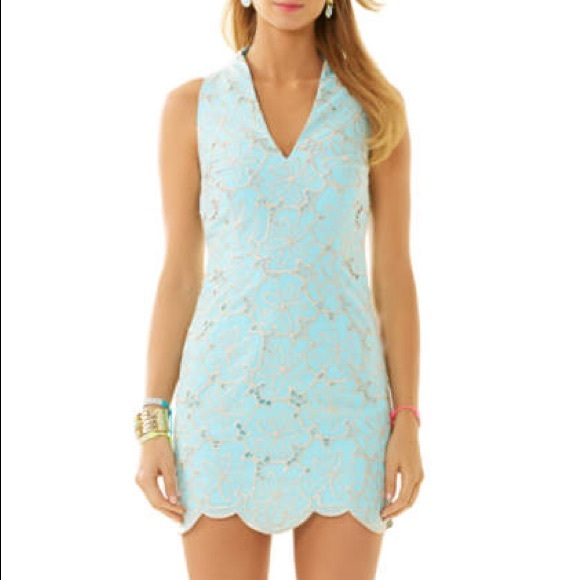 70914c2817d Lilly Pulitzer Estella Shift Dress (NWT)